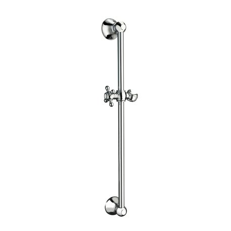 Rustic shower bar 56 cm with adjustable bracket 460.C8072.xx