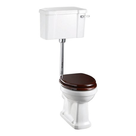 Edwardian low level toilet for the retro style bathroom or toilet