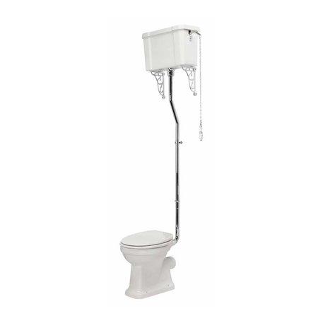 Edwardian high level toilet for the retro style toilet