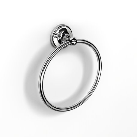 Classic towel ring in country style