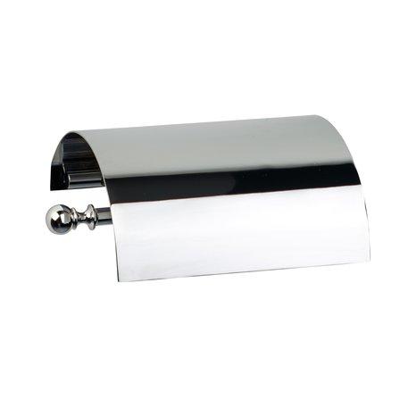 Elegant toilet paper holder for the retro WC