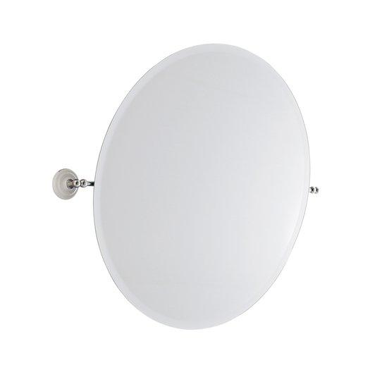 Retro ronde spiegel voor de klassieke badkamer