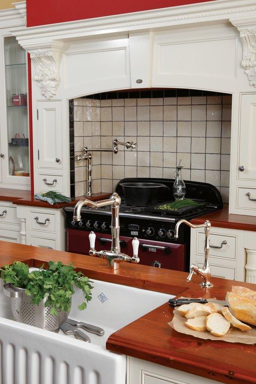 Cottage kitchen taps