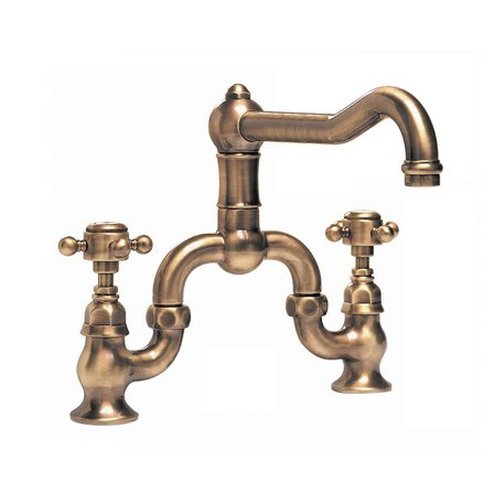 Elegant bridge kitchen faucet for the country style kitchen