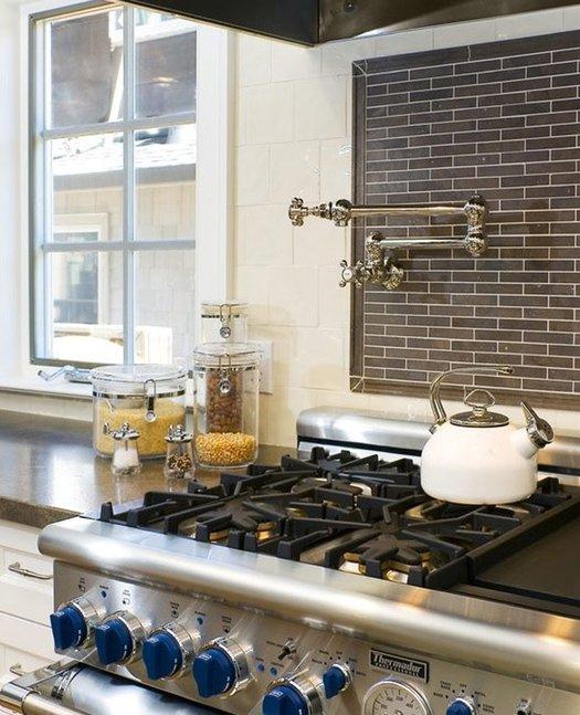 Retro wall-mounted folding kitchen tap 01
