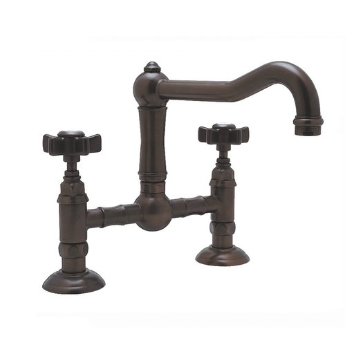 Retro bridge kitchen mixer available in different finishes