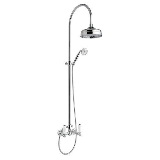 Ideal shower column for the retro style bathroom