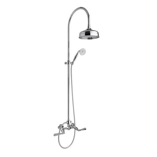 Elegant retro shower column