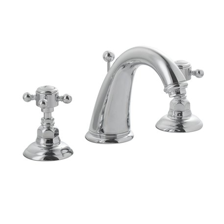 Elegant three hole basin faucet 950.2108.70 for the country style bathroom