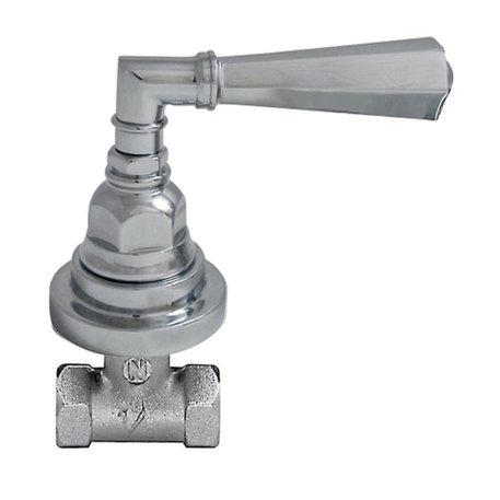 """Agora built-in stop valve 1/2"""" 950.2312.xx.xx"""