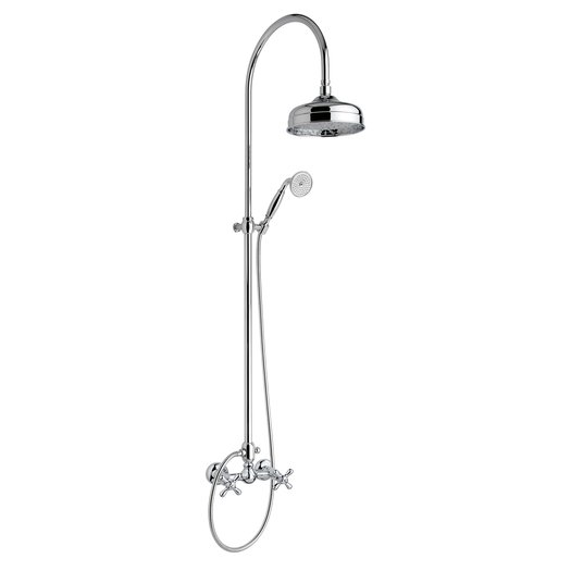 Cottage shower column from the Nuova Brenta collection