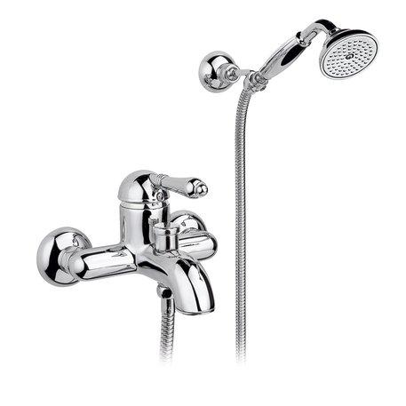 Single lever bath & shower mixer 950.3401 in retro style