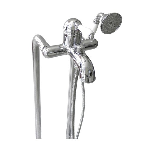 Cottage bath & shower tap 950.3401 with optional floor mounted standpipe kit 950.5573
