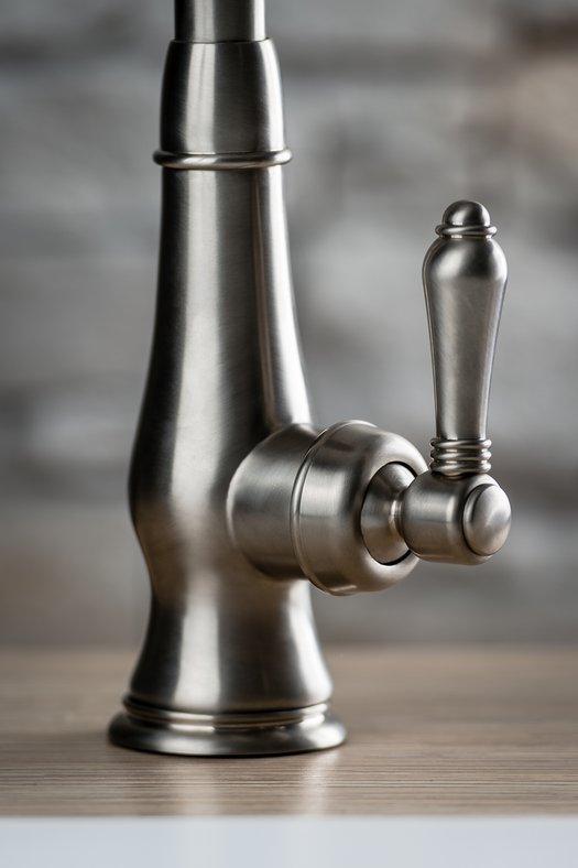Detail of the vintage kitchen faucet 950.3420.xx