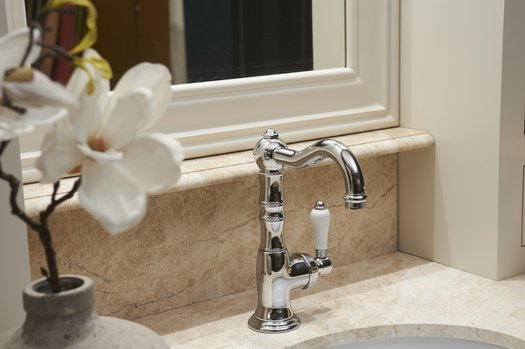 Retro tap for the country style bathroom