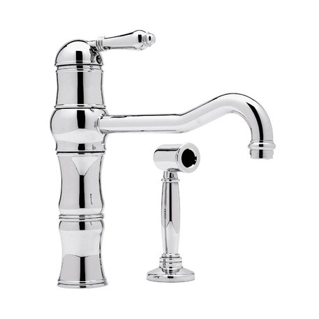 High kitchen single lever mixer for the classic kitchen
