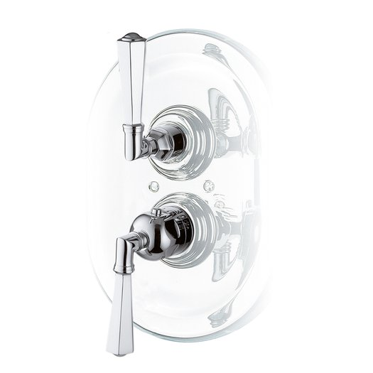 Classic built-in shower faucet for the elegant bathroom