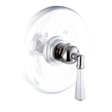 Thermostatic built-in shower faucet to configure your own shower setup