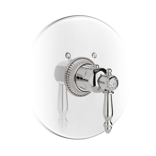 Retro thermostatic built-in shower faucet
