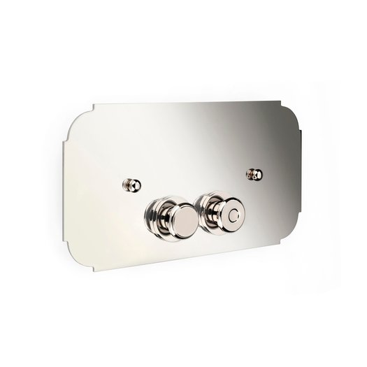 Control / flush plate for toilet