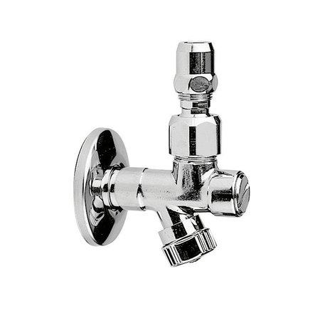 Shut-off valve with filter
