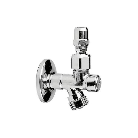 Shut-off valve with filter