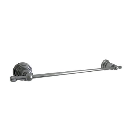 Bathroom towel holder for the bathroom with mechanical accents