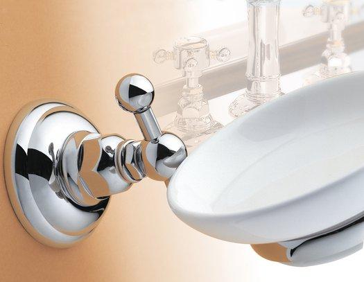 Elegant soap holder in classic style