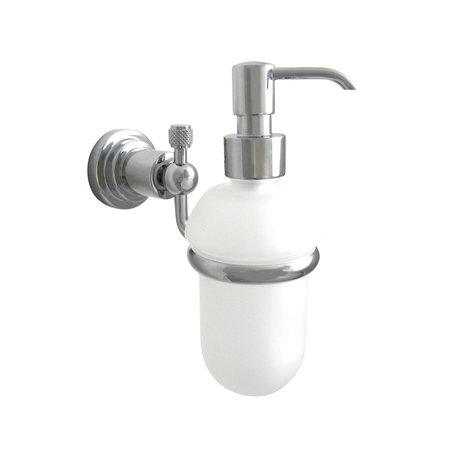 Mechanical style soap dispenser
