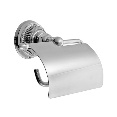 Elegant toilet paper roll holder in classic style