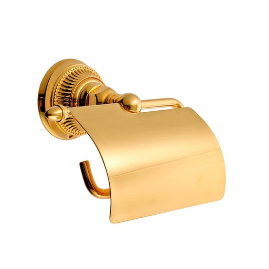 Wc rolhouder in 24k goud