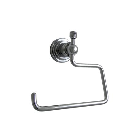 Mechanical style roll holder for the toilet