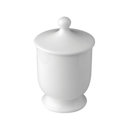 Freestanding porcelain bowl for the classic bathroom