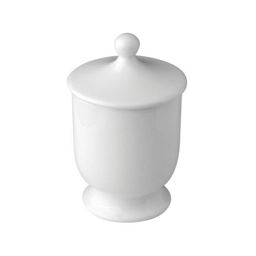 Freestanding porcelain bowl for the classic bathroom