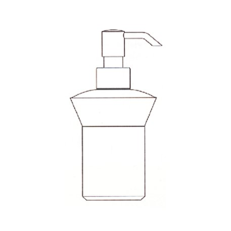 Liquid soap dispenser for the free standing holder 951.1494