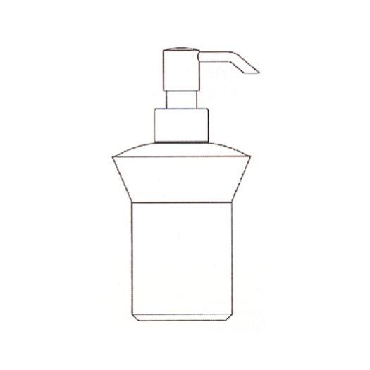 Liquid soap dispenser for the free standing holder 951.1494