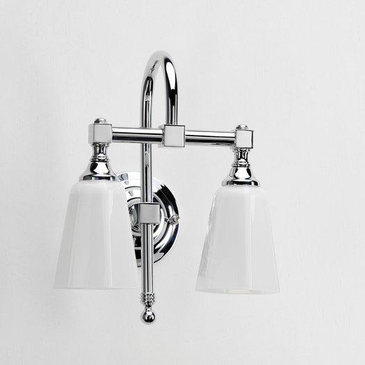 Classic double bathroom lamp