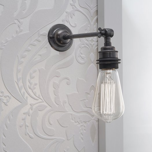 Wall lamp in cottage style (Edison lamp)