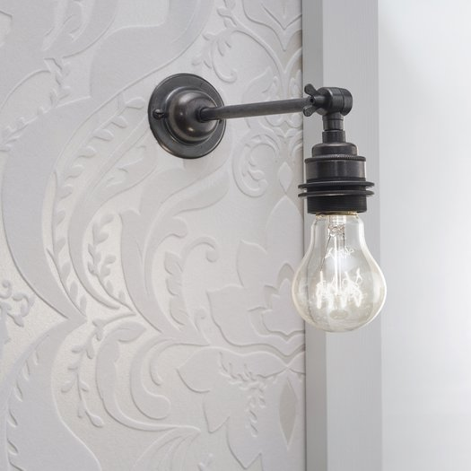 Wall lamp in cottage style (standard lamp)