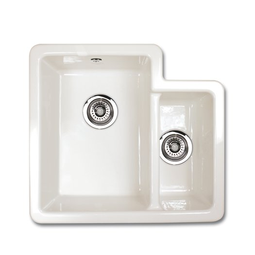 Brindle 600 kitchen sink with 2 bowls