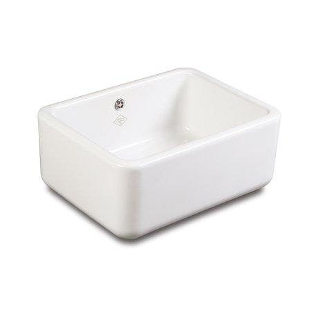 Buttler 600 stylish kitchen sink in porcelain