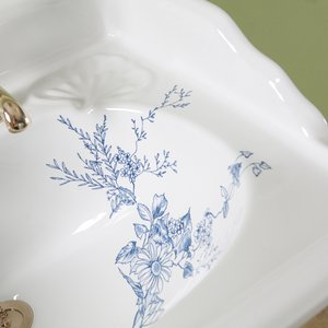 Example Victorian Blue Garden finish 01