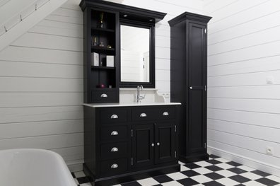 Classic bathroom furniture