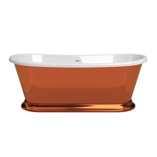 Baignoire Majestic Copper Liquid metal