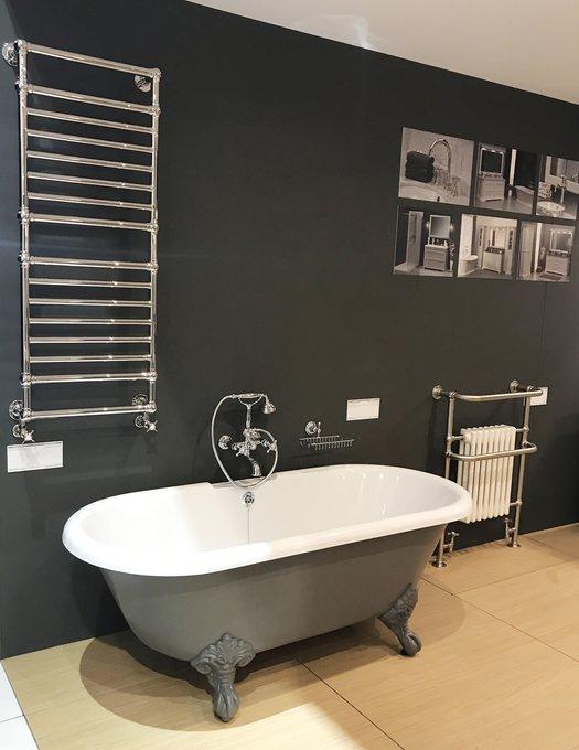 Example classic bath on feet