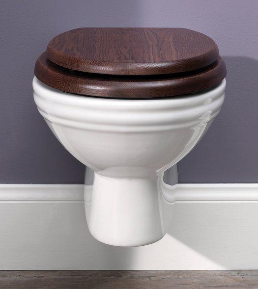 Balasani hang wc voor de landelijke badkamer