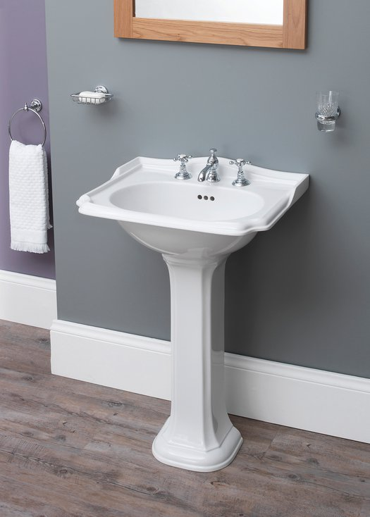 Balasani basin on pedestal for the country style bathroom
