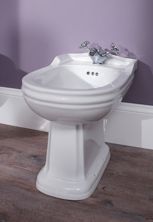 Standing Balasani bidet for the country style bathroom