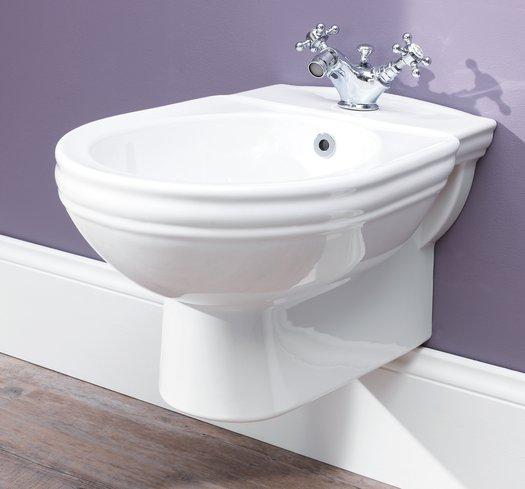 Balasani wall  mounted bidet for the country style bathroom