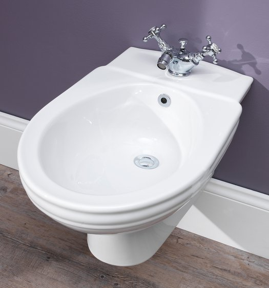 Balasani wall  mounted bidet for the country style bathroom top view